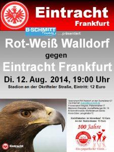 Eintracht gegen RW Walldorf
