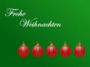 Frohe Weihnachten - dieses Bild gibt es in verschiedenen Auflösungen für alle Pateon Spender zum Download