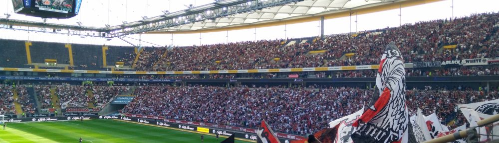 Das Stadion gegen Augsburg