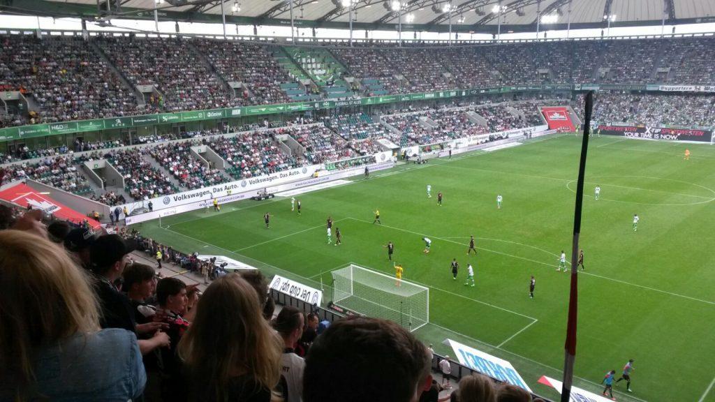 Die Eintracht in Wolfsburg