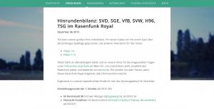 Rasenfunk Royal Winteredition - mit Eintracht Podcast Beteiligung