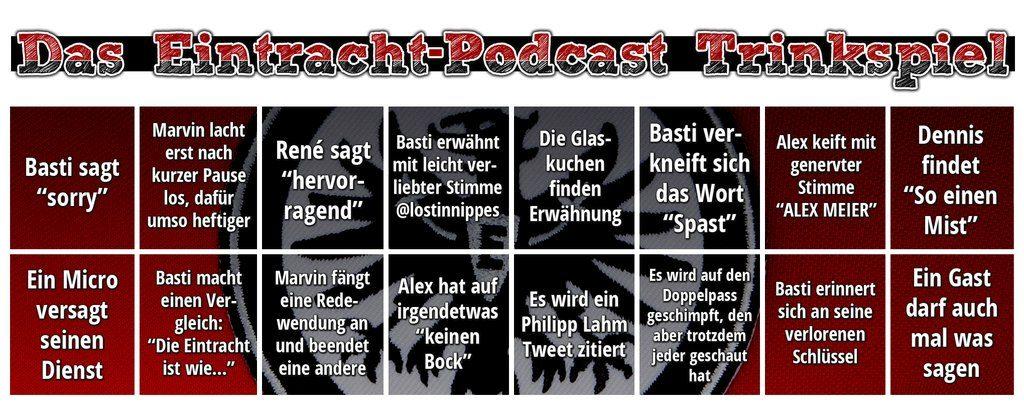 Eintracht Podcast Trinkspiel