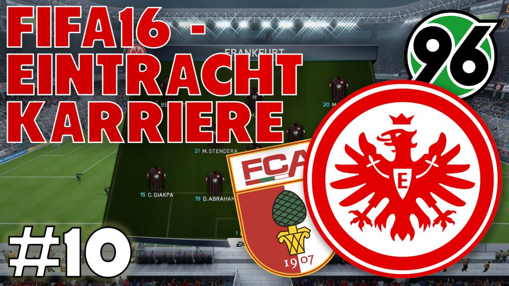 Eintracht Karriere #10 -Kommen wir in die nächste Pokalrunde? | FIFA16