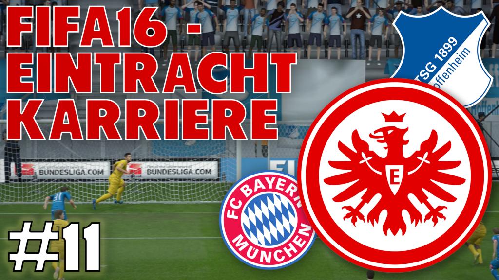 Eintracht Karriere #11 - Das dümmste Gegentor ever! | FIFA16