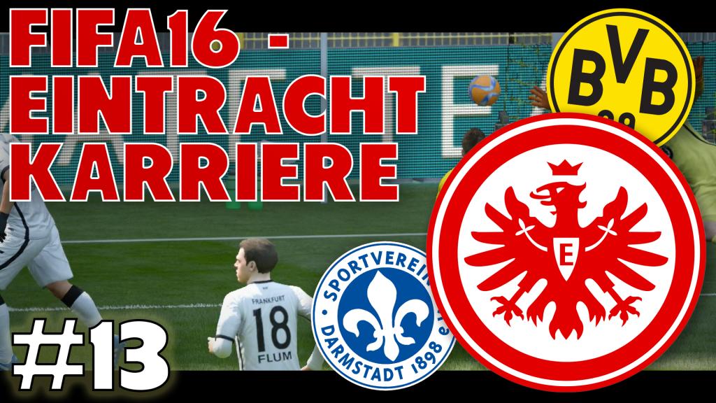 Eintracht Karriere #13 - Oben festsetzen | FIFA16