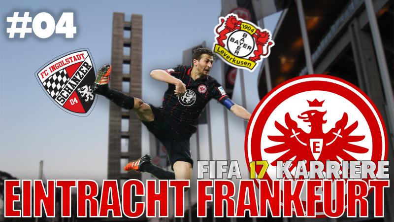 FIFA17 Karriere #04 - Ecke, Kopf, Tor! | Eintracht Karrieremodus