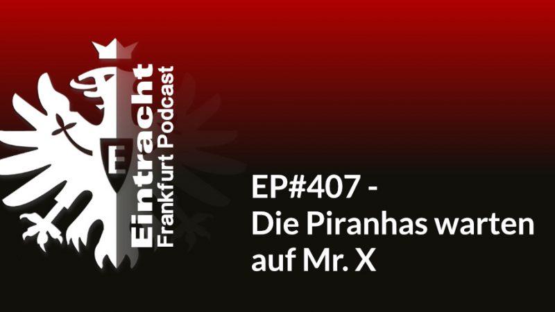 EP#407 - Die Piranhas warten auf Mr. X